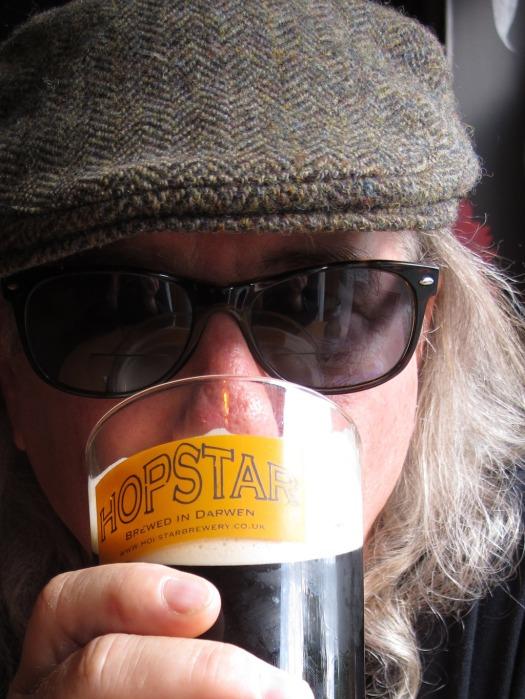 Felder with Hopstar beer