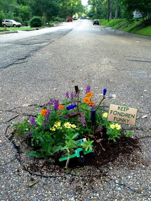 Fondren Pothole Garden