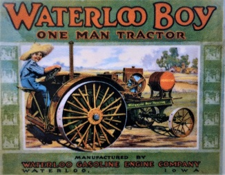 Advert from 100 years ago - original John Deere tractor
