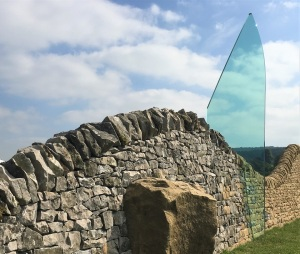 Glass and Stone Sculpture