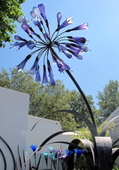 Jenny Pickford creation at Hampton Court Flower Show