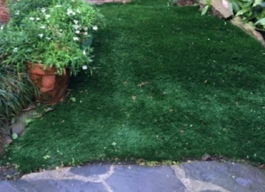 Rick Griffin faux grass carpet