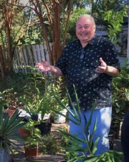 Bill Nicolas - plant guru of Mobile Alabama