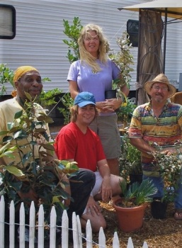 Helping replant the coast after Hurricane Katrina